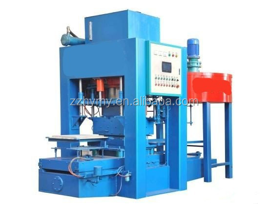 New design square brick making machine made in china Tel:0086 18703886379