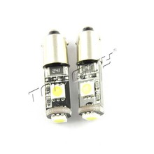 T4W 5050 3SMD BA9S Projector LED Car Bulb Lamp Interior White Side Tail Light