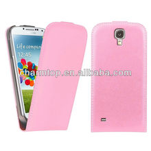 Genuine Leather Magnetic Flip Case for Samsung Galaxy S4 Mini i9190