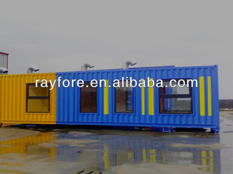40 ft mostra casa container case prefabbricate id prodotto - Casa container italia ...