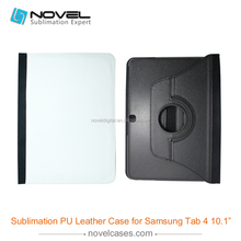 New arrival hot selling pu leather rotate phone for samsung TAB4