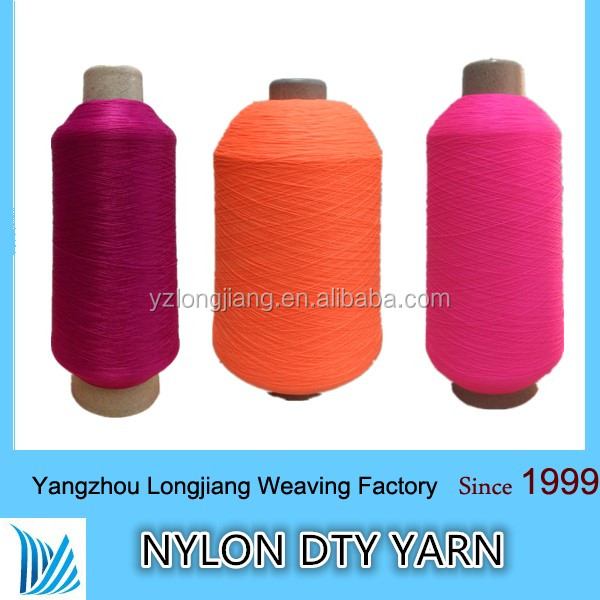 factory wholesale socks nylon 6 dty yarn sewing thread 100/24/2