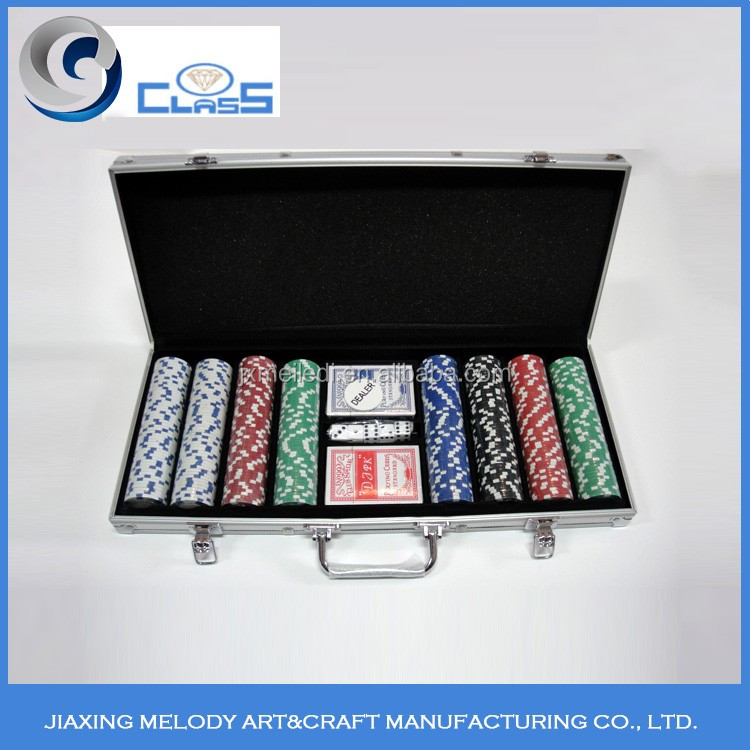 Factory price wholesale sale quality assurance sturdy durable poker chip set