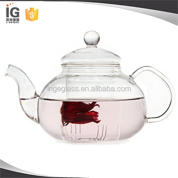 Borosilicate Glass china tea pots , teavana tea set