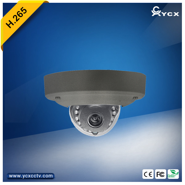New Arrival Onvif Free P2P Mobile Viewing H.265 4MP 5MP Vandalproof Indoor Mini IR Dome IP Camera POE Audio Alarm CCTV WDR