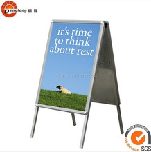 Outdoor aluminum a board whirlwind sidewalk a frame stand display