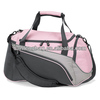 Pink gym sports duffle bag women ladies