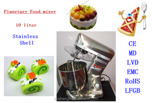10 liter planetary food mixer machine stainless steel