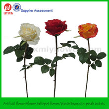 "26"" Artificial Long Stalk Rose Flowers Decoration"