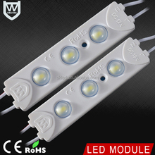 Good Price 20PCS a String 5730 3leds LED signage module 12V waterproof 1.5W high quality 12V LED Module for lighting box