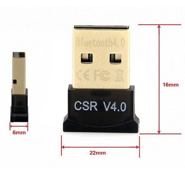Mini wireless Bluetooth Dongle CSR8510 V4.0 Usb ethernet adapter