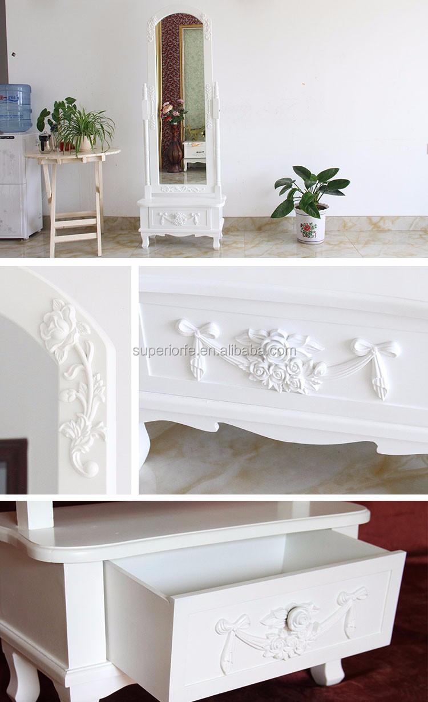 Hout frame stand spiegel voor slaapkamer slaapkamer sets product ...