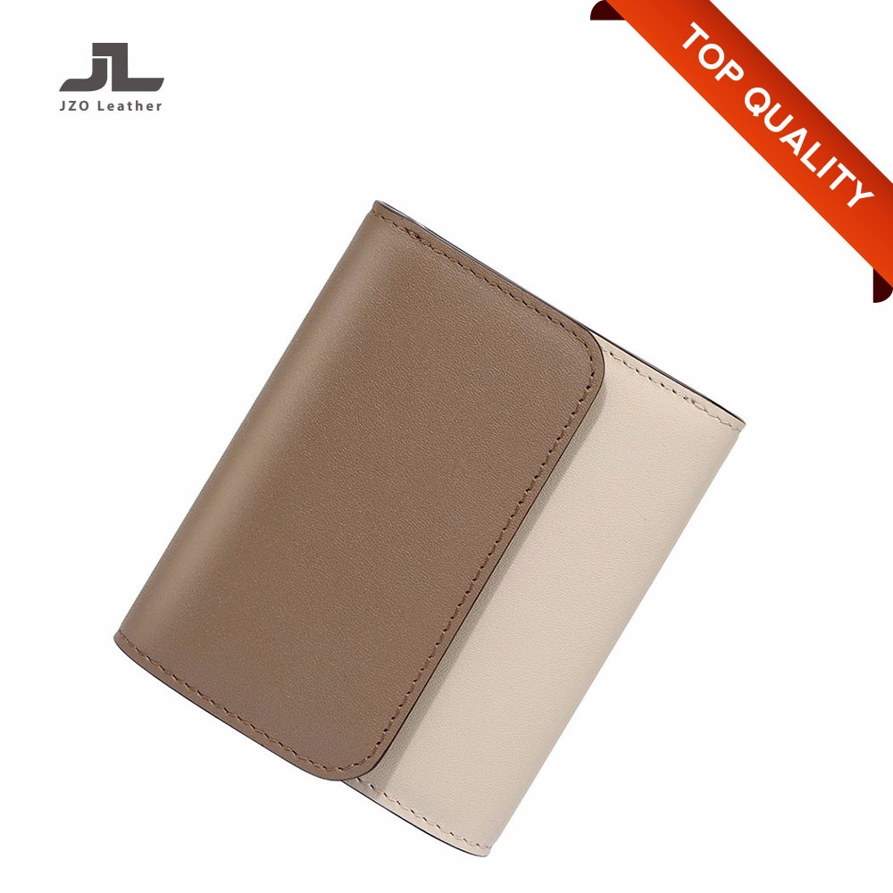 Direct Supplier Cheap Waterproof Genuine Leather Woman Small Wallet