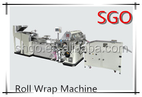 Candy Roll Wrap Machine for Jelly candy/ Tablet Candy/Mentos/Polo
