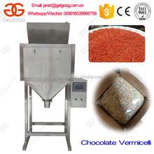 Double Scales Chocolate Vermicelli Filling Machine Vermicelli Packing Machine