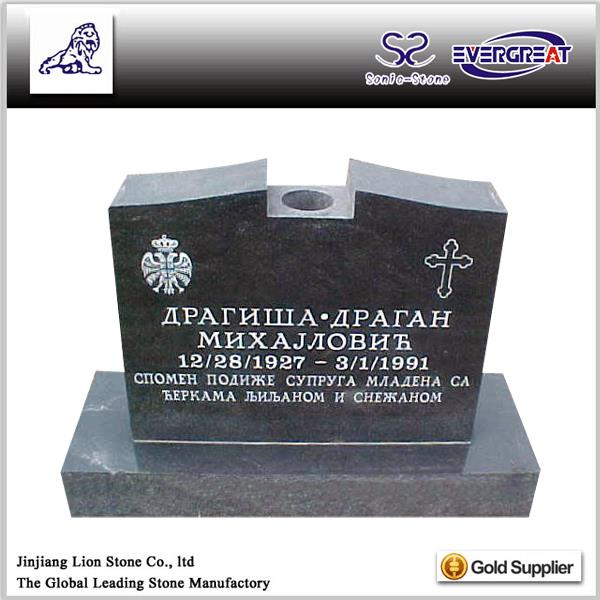 Good Quality cheap granite upright headstones
