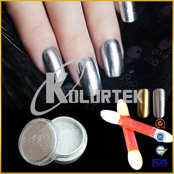 Kolortek nail art mirror effect powder chrome pigments factory