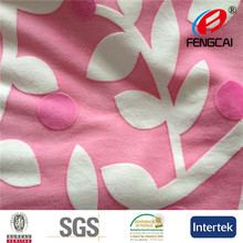 Small QOQ 50mts mixed color China factory low price minky velvet fabric