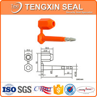 ISO SGS certificate ABS coated security bolt seal container