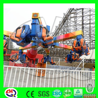 Attactive amusement rides recreational crazy energy storm