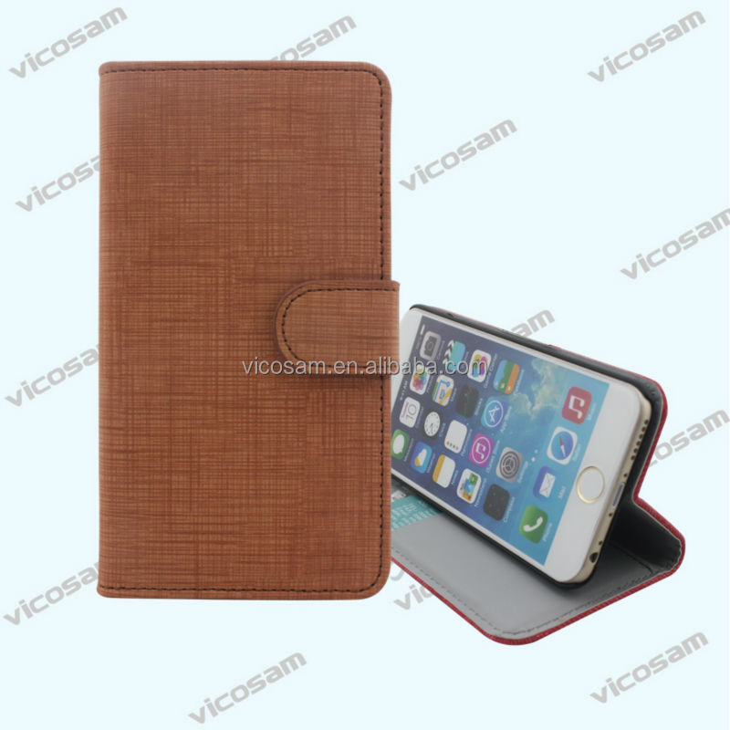 2017 alibaba China new leather waterproof case for iphone 6 with wallet magnet