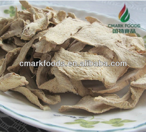 delicious organic dried ginger flake