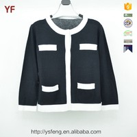 School Sweater Knitting Girl Cardigan Fashion Sweater Design