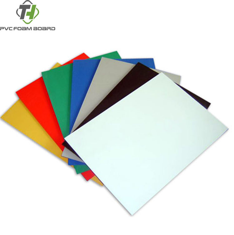 soft food gradev pvc sheet impact resistance foam board