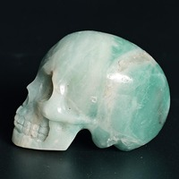 Wholesale Natural Carved Skull Gifts Craft