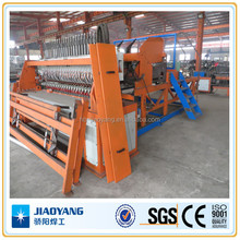 Construction mesh production line of steel rebar