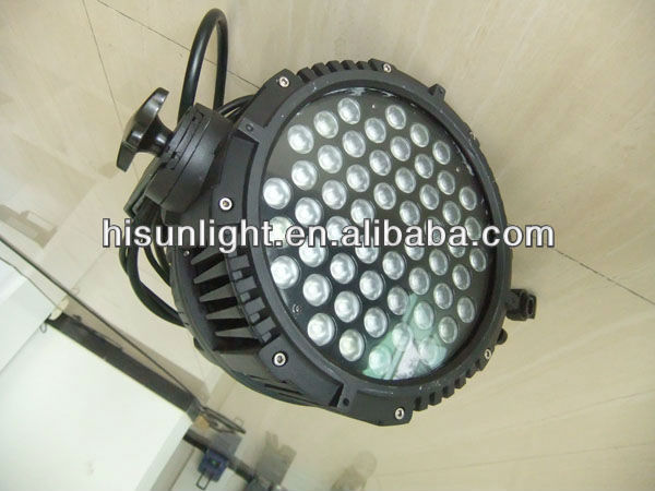 54 pieces par light 54*3W 54*1W 3 in 1 LED par light 54*3W 54*1W RGBW five color LED par light 36x3w led par light
