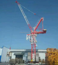 China popular 45m jib 6/8tons QTD120(4522) luffing tower crane for high-rise building