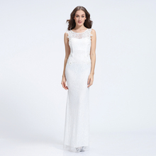 2017 Alibaba new style v-neck manual nail bead wedding dress bridal gown
