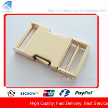 CD7855 Fashion Gold Metal Side Release Buckles