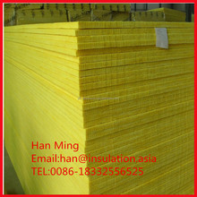 glass wool board for outdoor wall duct insulation/heat resistant ceiling material