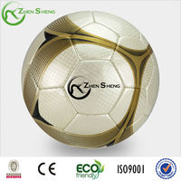 inflated soccer football ball