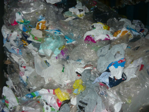 LDPE Grocery Bags Mixed with Film Packaging