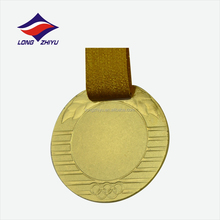 Die casting art and craft souvenir sport blank insert medal