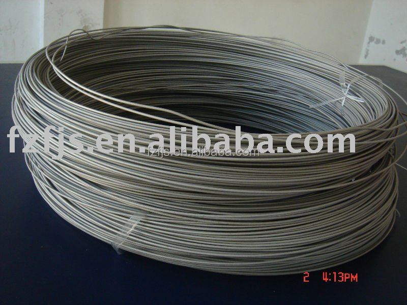 Supply GR5 GR7 GR9 GR12 pickling surface ASTM B863 alloy titanium wire coiled/straight