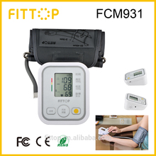Fittop 2015 new bluetooth wrist blood pressure monitor with heart rate counter