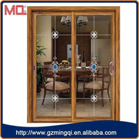 Super Strong Cheap Exterior Accordion Doors With Double Glass