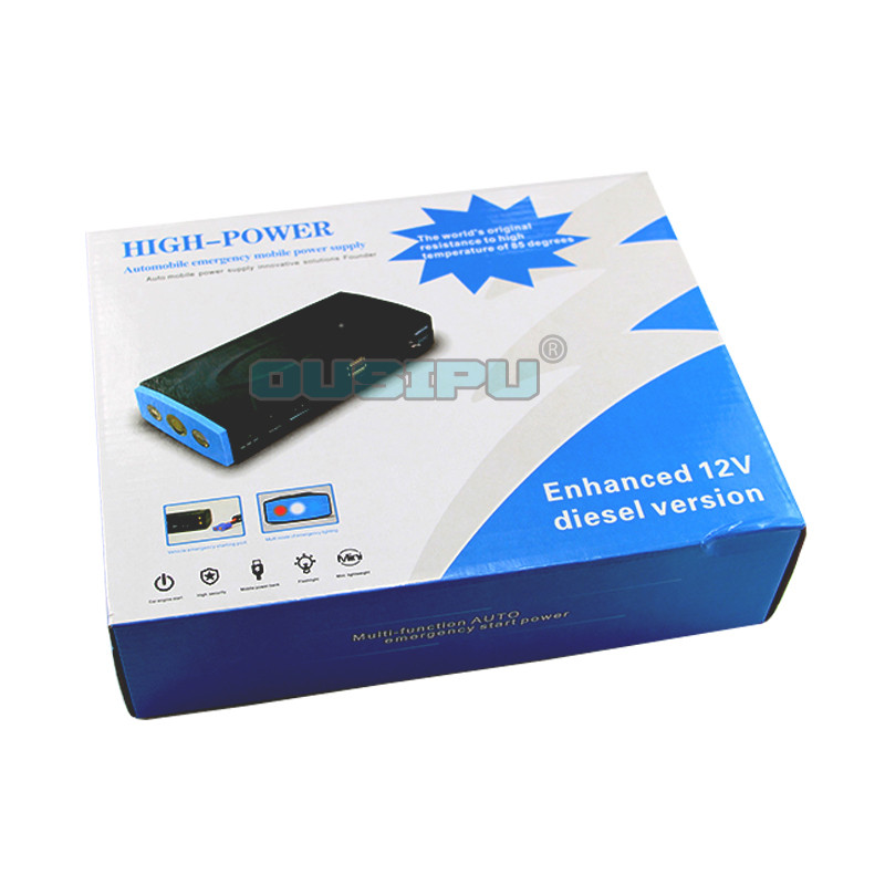 High Capacity 16800 mAh Multi-function Car Jump Starter TM10E Portable Mini Car Battery Jump Starter
