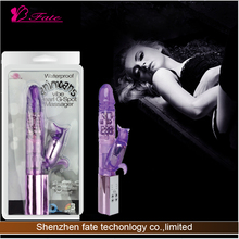 2014 The latest Fancy flexible electronic rotate and vibrator adult real feeling sex toy torch