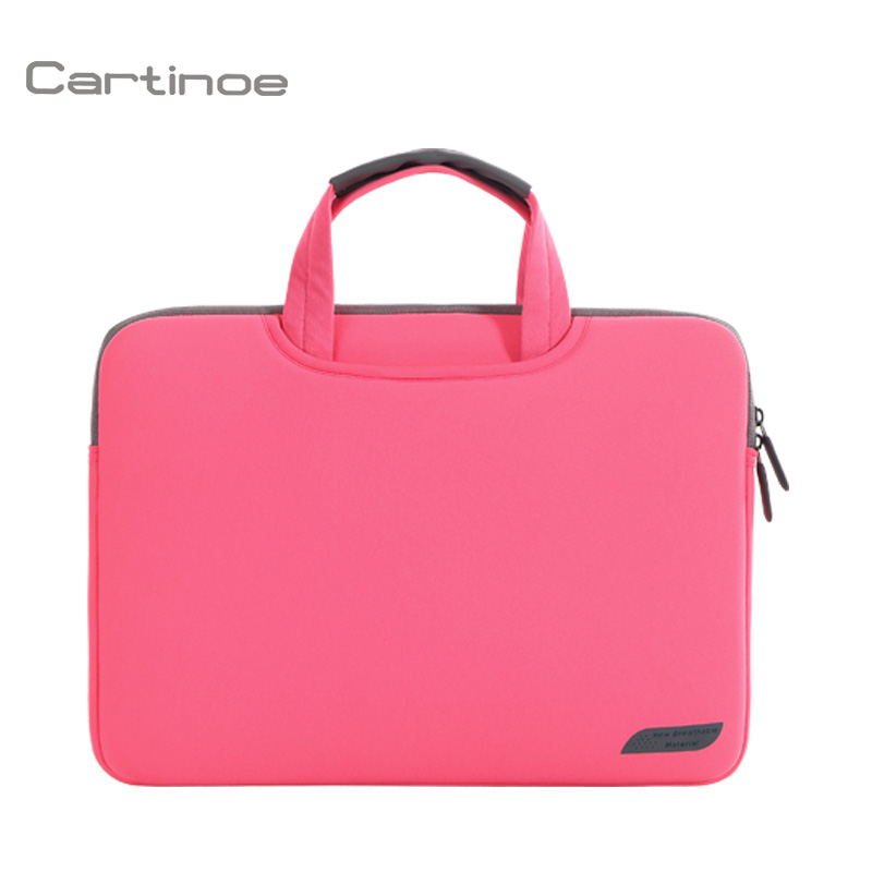 Shockproof laptop case notebook bag for 13 Inch macbook air in black rose gray pink