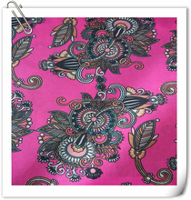 Exquisite fashionable patterns woven printed taffeta fabric