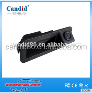 Tailgate handle camera for ford