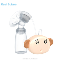 realbubee adult oem usb hands free micro bpa free silicone pp enlargement electric breast pump