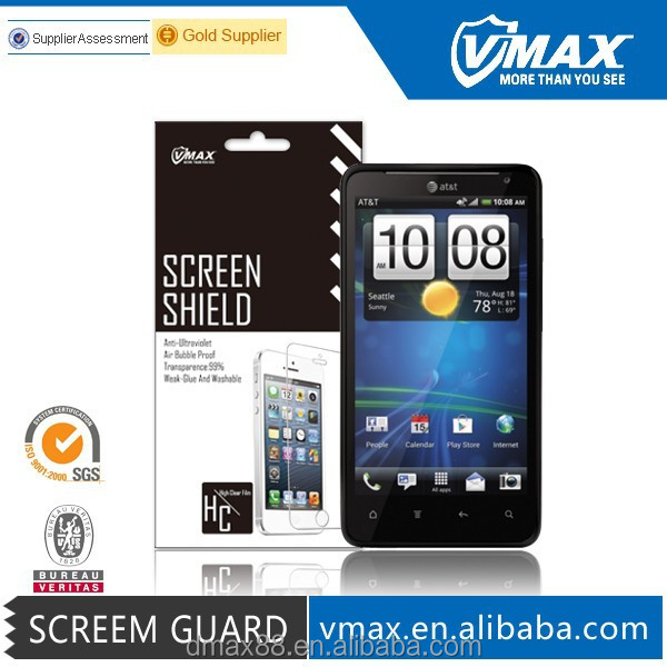 3m scratch resistant anti-radiation screen protector for HTC vivid