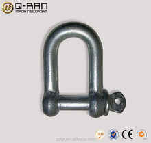 High Quality Rigging European Carbon Steel D Shackle