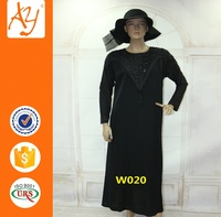 2016 New Style Islamic Clothing wholesale Ethnic Clothing Abaya Dubai Material